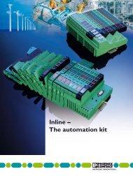 Inline - The automatic kit - Phoenix Contact