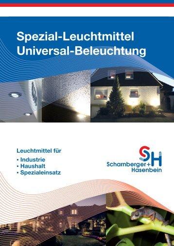 Spezial-Leuchtmittel Universal-Beleuchtung - Scharnberger + ...