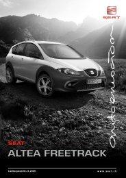 AlTEA FrEETrAck SEAT - autoronchetti