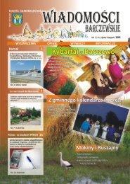 lipiec-sierpień - Wiadomości Barczewskie - Gmina Barczewo
