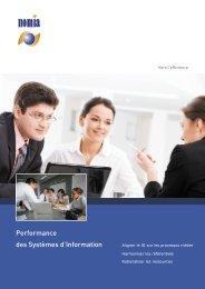 Performance des Systèmes d'Information - Nomia