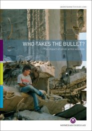 Who takes the bullet?
