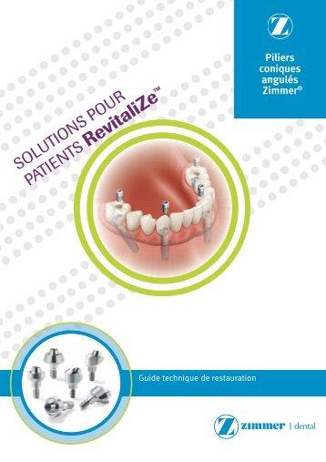 Mise en place de l'implant - Zimmer Dental