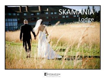 2013 Intimate Wedding Package Brochure