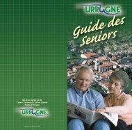 """GUIDE DES SENIORS int""""rieur - Urrugne"""