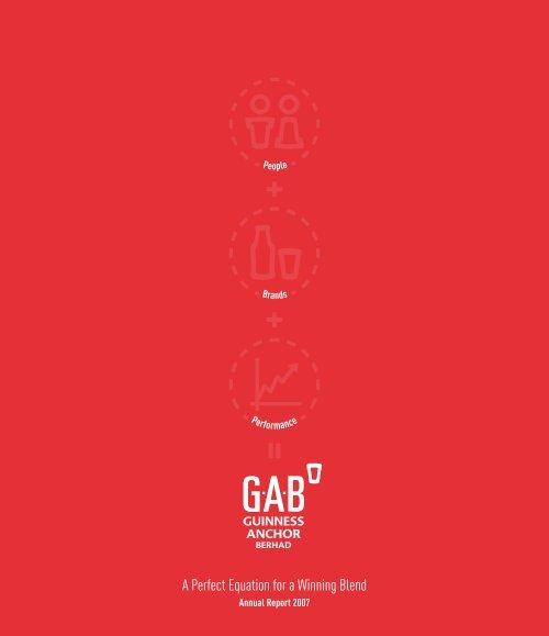 Full Version Guinness Anchor Berhad Annual Report 2007 - Gab
