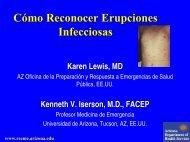 Cómo Reconocer Erupciones Infecciosas - Reeme.arizona.edu