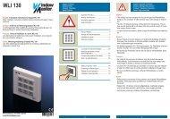 Bedieningspaneel (WLI 130) - Velux