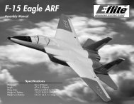 F-15 Eagle ARF - Modelis