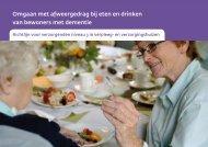 Richtlijn Omgaan met afweergedrag bij eten en drinken van ...