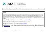Fosfomycin - eucast