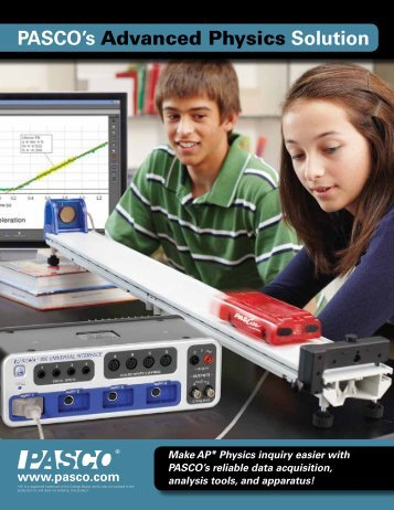 PASCO's Advanced Physics Solution - Products - PASCO Scientific