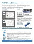 PASCO's Advanced Physics Solution - Products - PASCO Scientific - Page 3