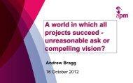 Presentation slides - Association for Project Management