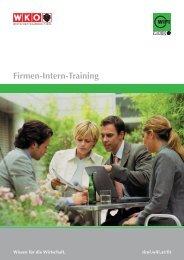 Firmen-Intern-Training