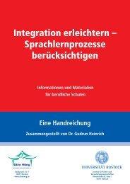 Integration erleichtern – Sprachlernprozesse berücksichtigen
