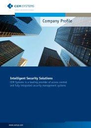 Company Profile - CEM Systems
