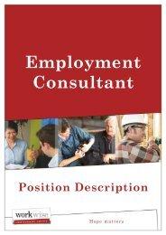 Employment Consultant - In-site