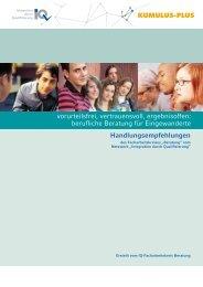 Handlungsempfehlungen - Nationales Forum Beratung in Bildung ...