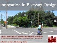 Innovation in Bikeway Design - New York State Association of ...