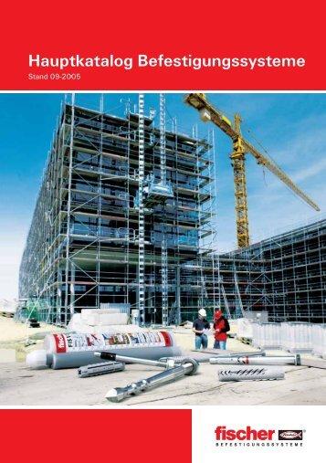 Hauptkatalog Befestigungssysteme - RS-Verbindungs- und ...