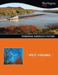 Powering America's Future - West Virginia Department of Commerce