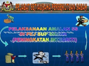 5S Pejabat Sitiausaha Persekutuan Sabah