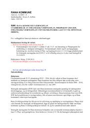saksframlegg_strat næringsplan_230913 - Rana Utviklingsselskap AS