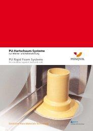 PU-Hartschaum-Systeme PU Rigid Foam Systems