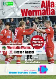 12.03.2011 Hessen Kassel - Wormatia Worms