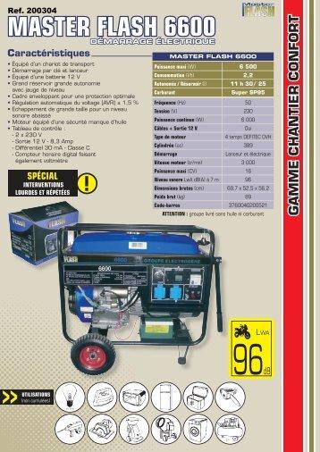 MASTER FLASH 6600 - Outiror