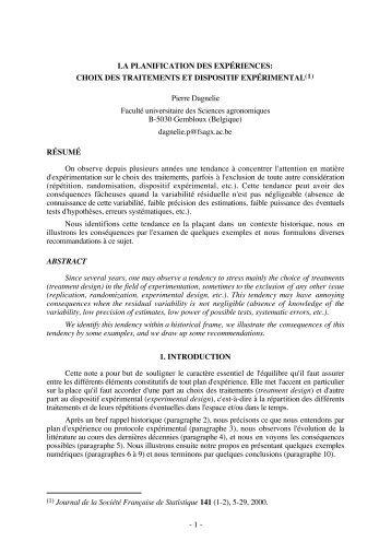 k - Livres de statistique de Pierre Dagnelie