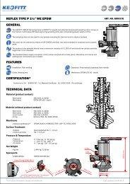 KEOFITT REFLEX™ pneumatic valve - pipe welding