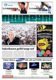 1. tölublað, 2. árgangur – 5. janúar 2012 - Akureyri Vikublað