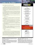 Download the March / April 2009 PDF - Pond Trade Magazine - Page 6