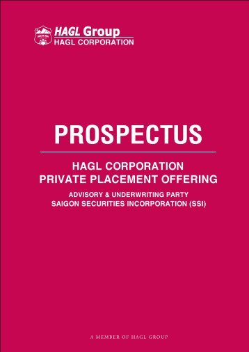 hagl corporation - FPTS