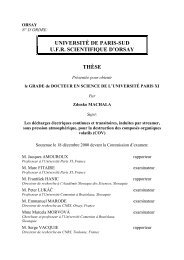 THESE DE DOCTORAT DE L'UNIVERSITE PARIS-SUD XI