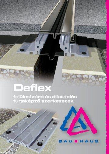 Deflex fugarendszerek - Bau Haus Kft.