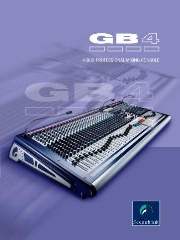 SOUNDCRAFT-Brochure-GB4-SERIES - AVC Group