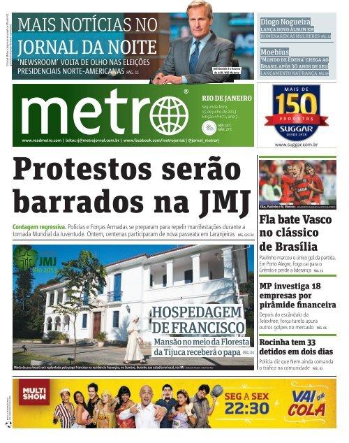 Rio 2013 - Metro