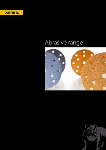 Abrasive range - KWH Mirka Ltd