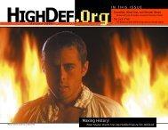 I N T H I S I S S U E - highdef magazine