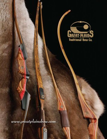 B-Model Take Down Recurve - Great Plains Traditional Bow