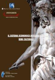 Il Sistema economico integrato dei beni culturali. - Ministero per i ...