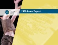 2008 Annual Report - New England Foundation for the Arts