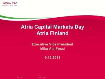 Mika Ala-Fossi - Atriagroup.com