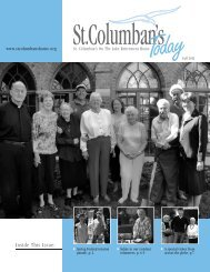 Fall 2011 Newsletter - St. Columban's on the Lake Retirement Home