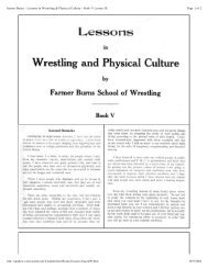 Page 1 of 2 Farmer Burns - Lessons in Wrestling & Physical Culture ...