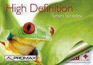 TV Explorer HD - Promax Deutschland