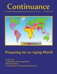 Winter/Spring 2013 - Preparing for an Aging World - State of Illinois